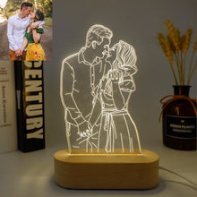 Load image into Gallery viewer, Customized Photo 3D Lamp