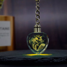 Load image into Gallery viewer, Personalized Crystal Keychain