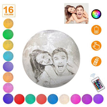 Load image into Gallery viewer, Multicolor Customized Moon Lamp 16 colors