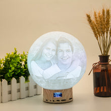 Load image into Gallery viewer, 3D Bluetooth Speaker Moon Light