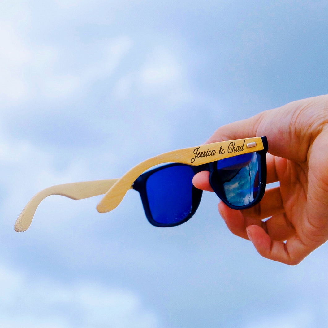 Customized Wooden Engraved Sunglasses