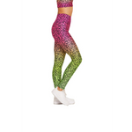 Ombre Cheetah 7/8 Legging
