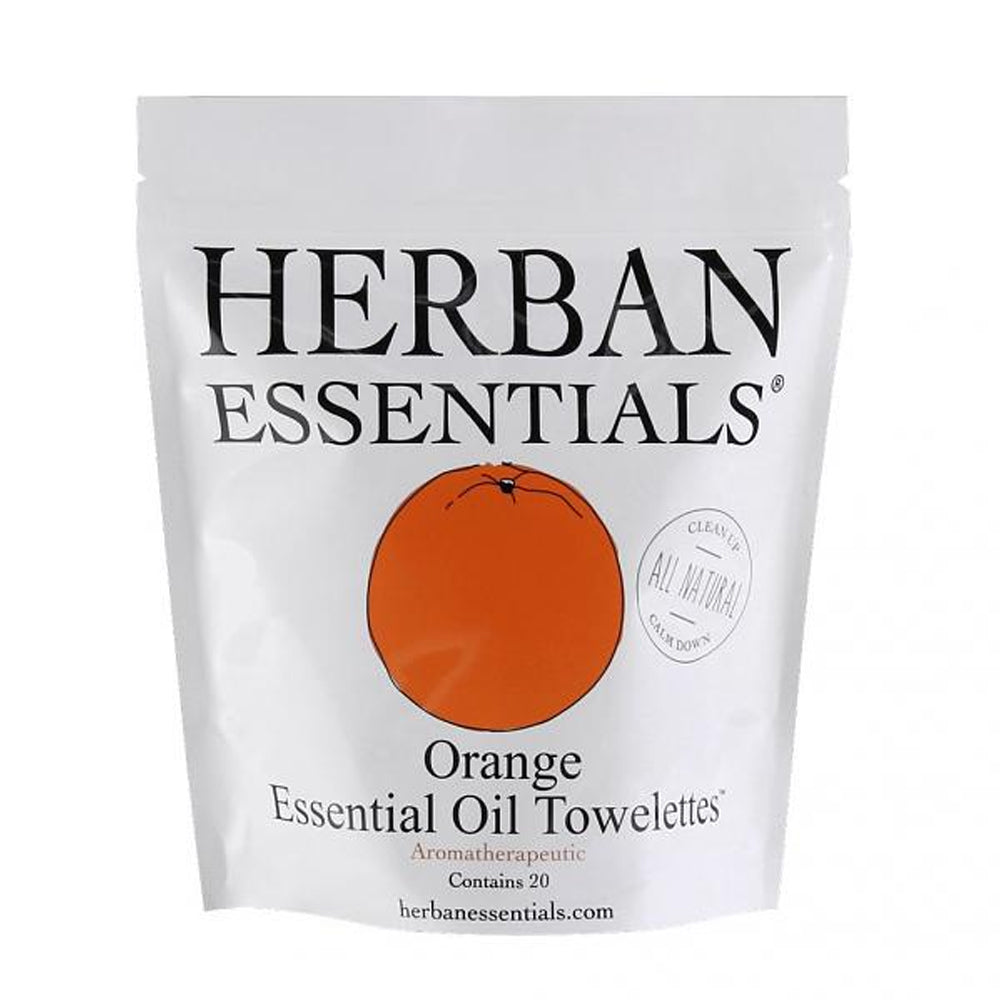 Herban Essentials Towelettes - Orange