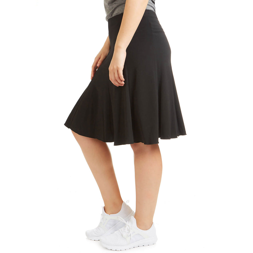 Twirly Pull On Fitness Skirt
