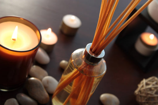 reed diffuser vs scented candle