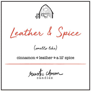 Cinnamon Leather