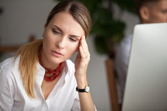 candles effect migraine pain
