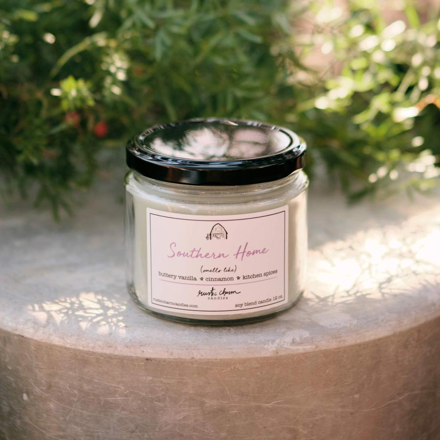 Rustic Charm Candles | 12-oz Scented Candle | Southern Home