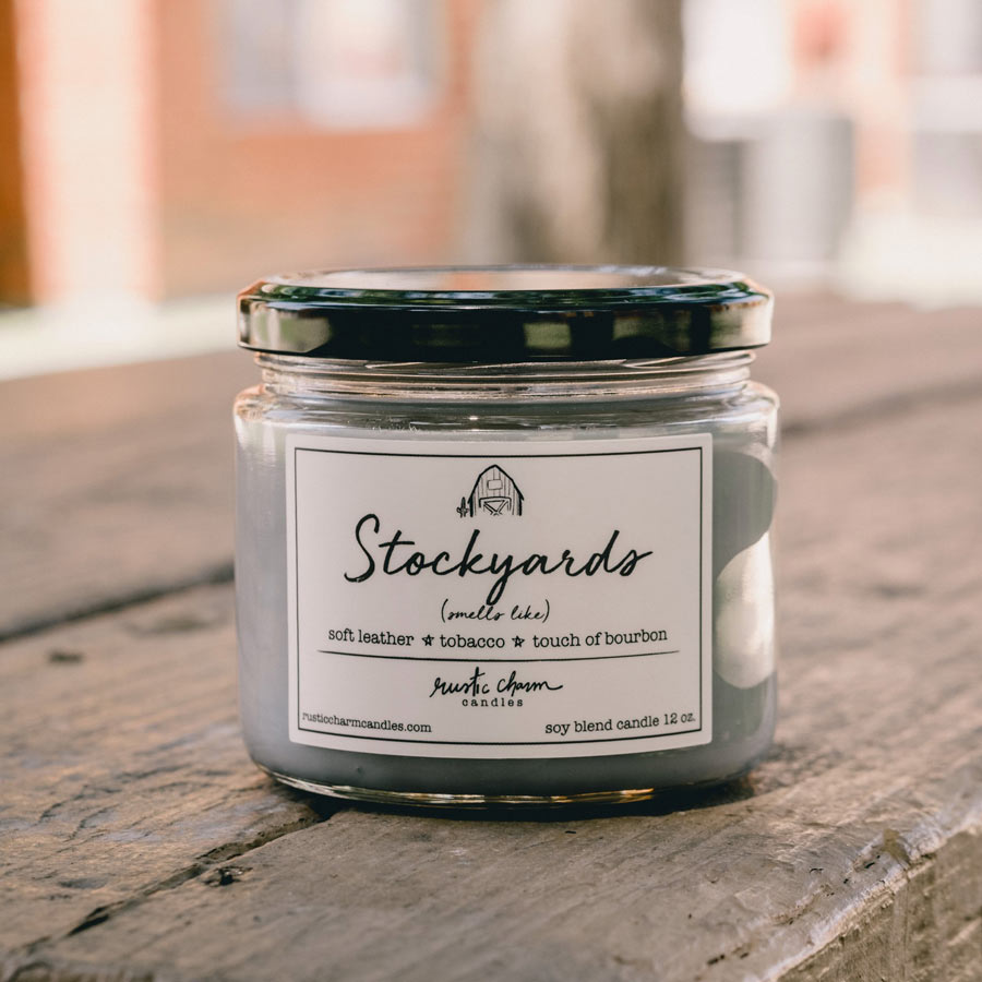 Rustic Charm Candles | 12-oz Scented Candle | Stockyards