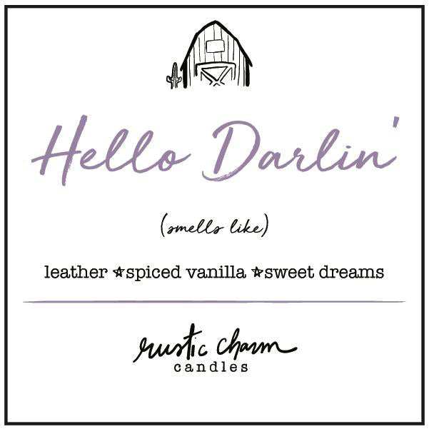 Rustic Charm Candles | Hello Darlin'