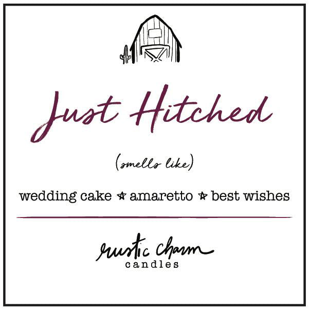 Rustic Charm Candles | Just Hitched