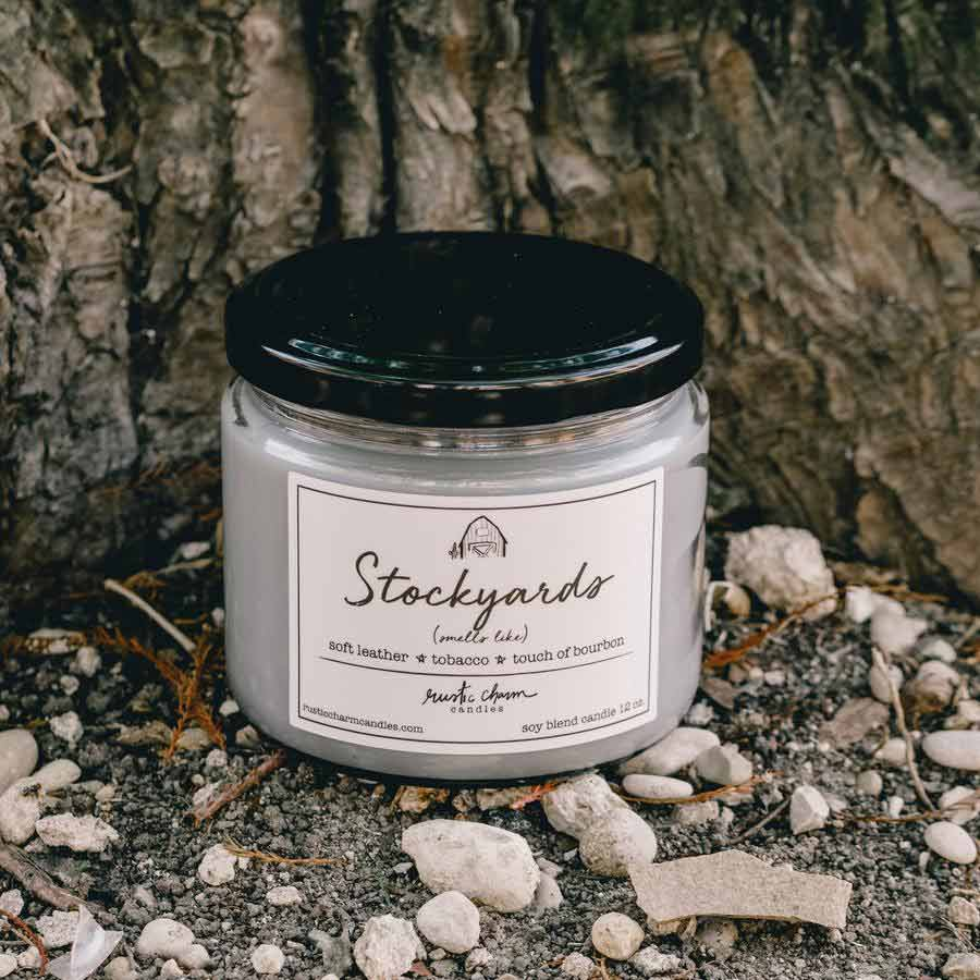 Rustic Charm Candles Stockyards Scented Candle