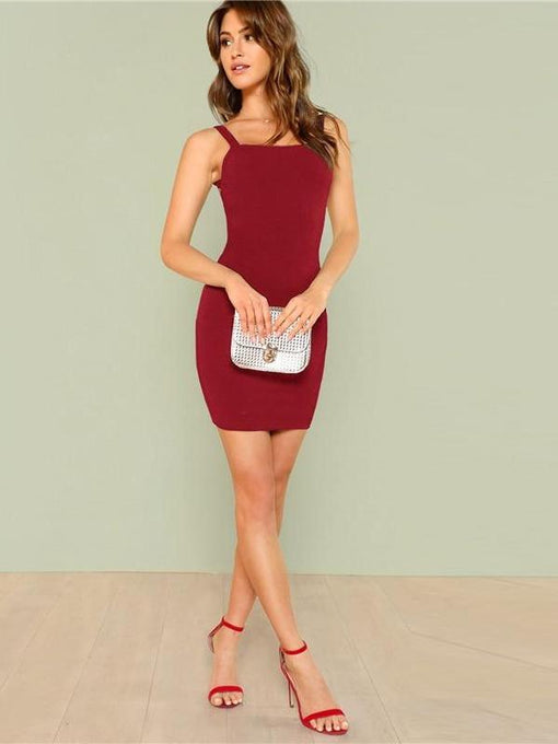 Elle Backless Bodycon Dress
