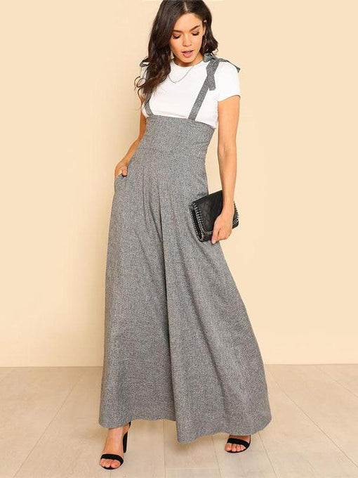 Kathryn Self Tie Strap Jumpsuit