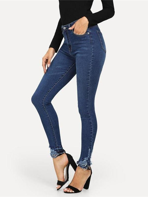 Carla Denim Ripped Jeans