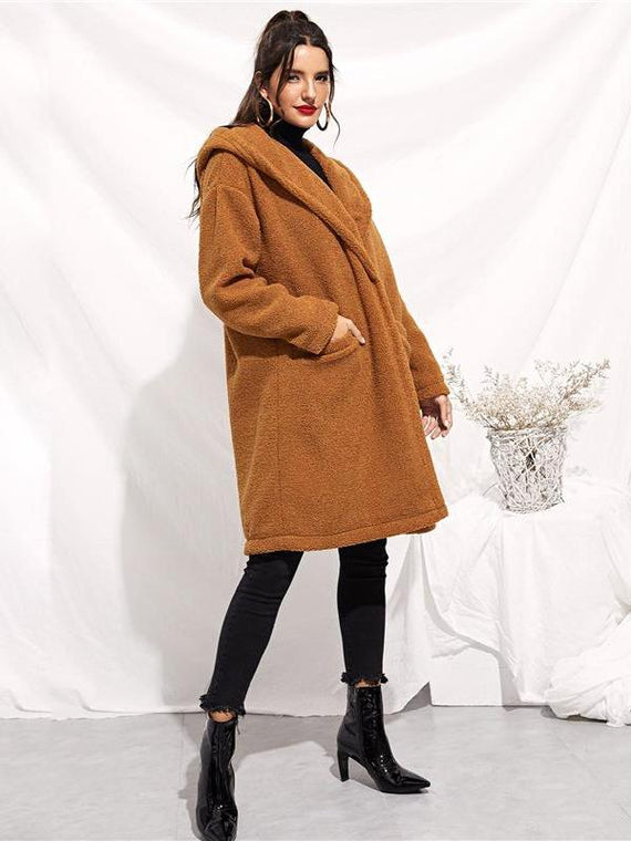 Betsy Brown Teddy Coat
