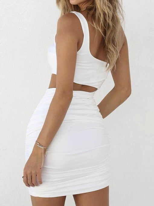 Serena White Dress