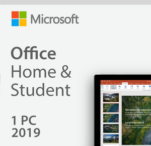 Microsoft Office Home & Student 2019 - For MAC - Digital Delivery Only [ESD]
