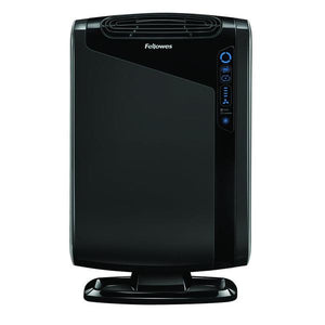 black rectangular air purifier