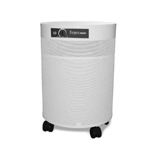 white round air purifier
