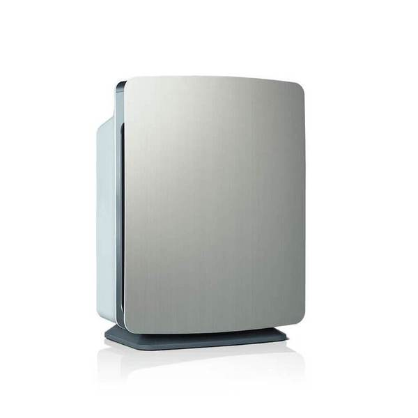 silver rectangle air purifier