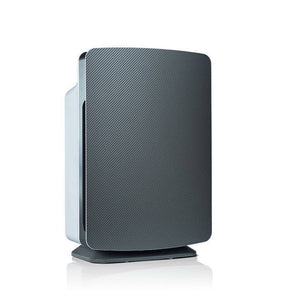 grey rectangle air purifier