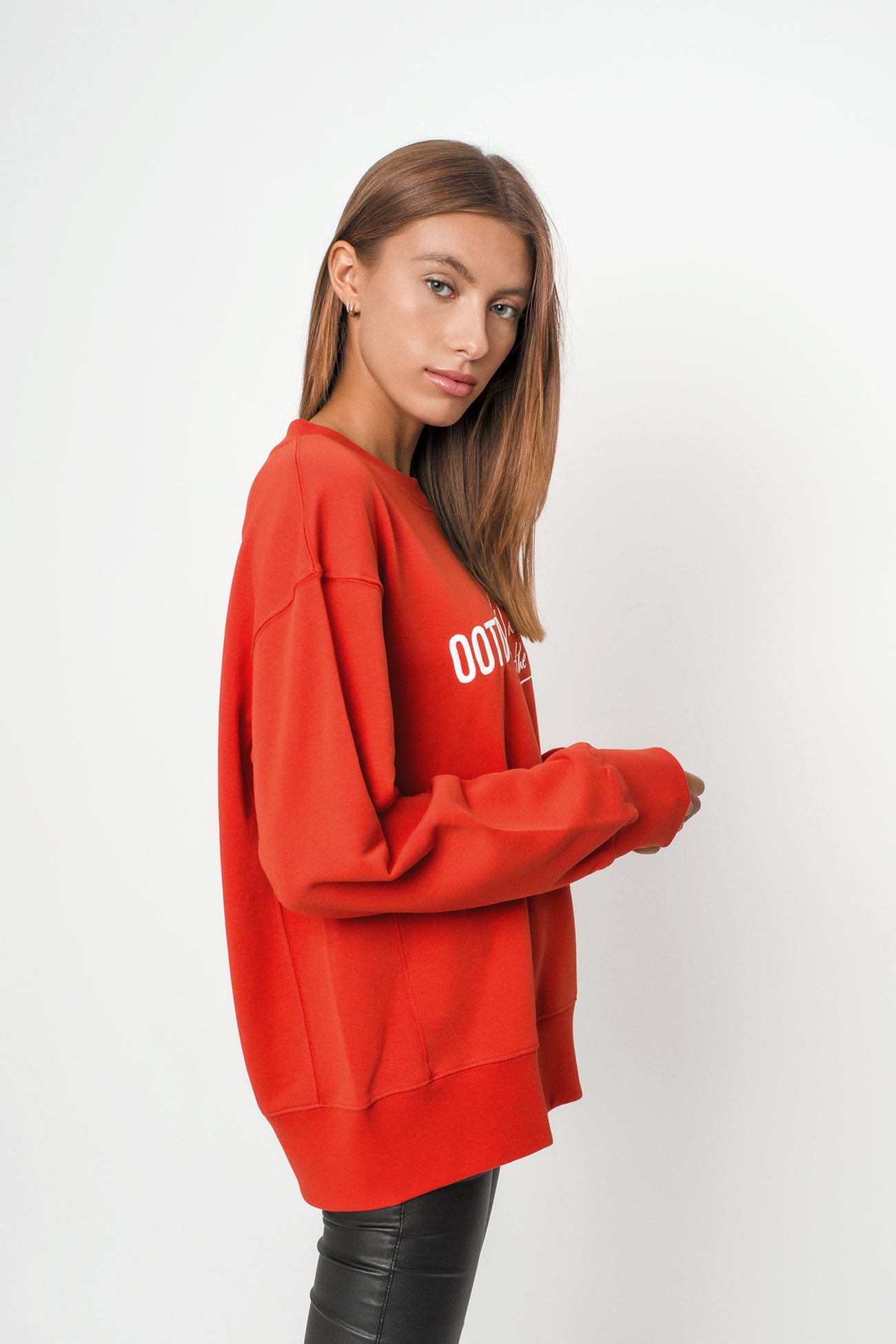 Boyfriend Fit Sweatshirt