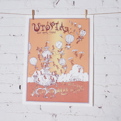 Utopia in Our Time print No.2 by Molly Crabapple