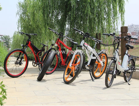 Image of Electric Mountain Bike Intelligent PAS