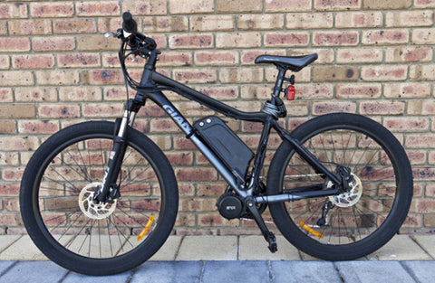 Mid-mounted Electric Bicycle Modification Kit