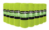 12 Pack of Imperial Home 50 x 60 Inch Ultra Soft Fleece Throw Blanket - Lime Green