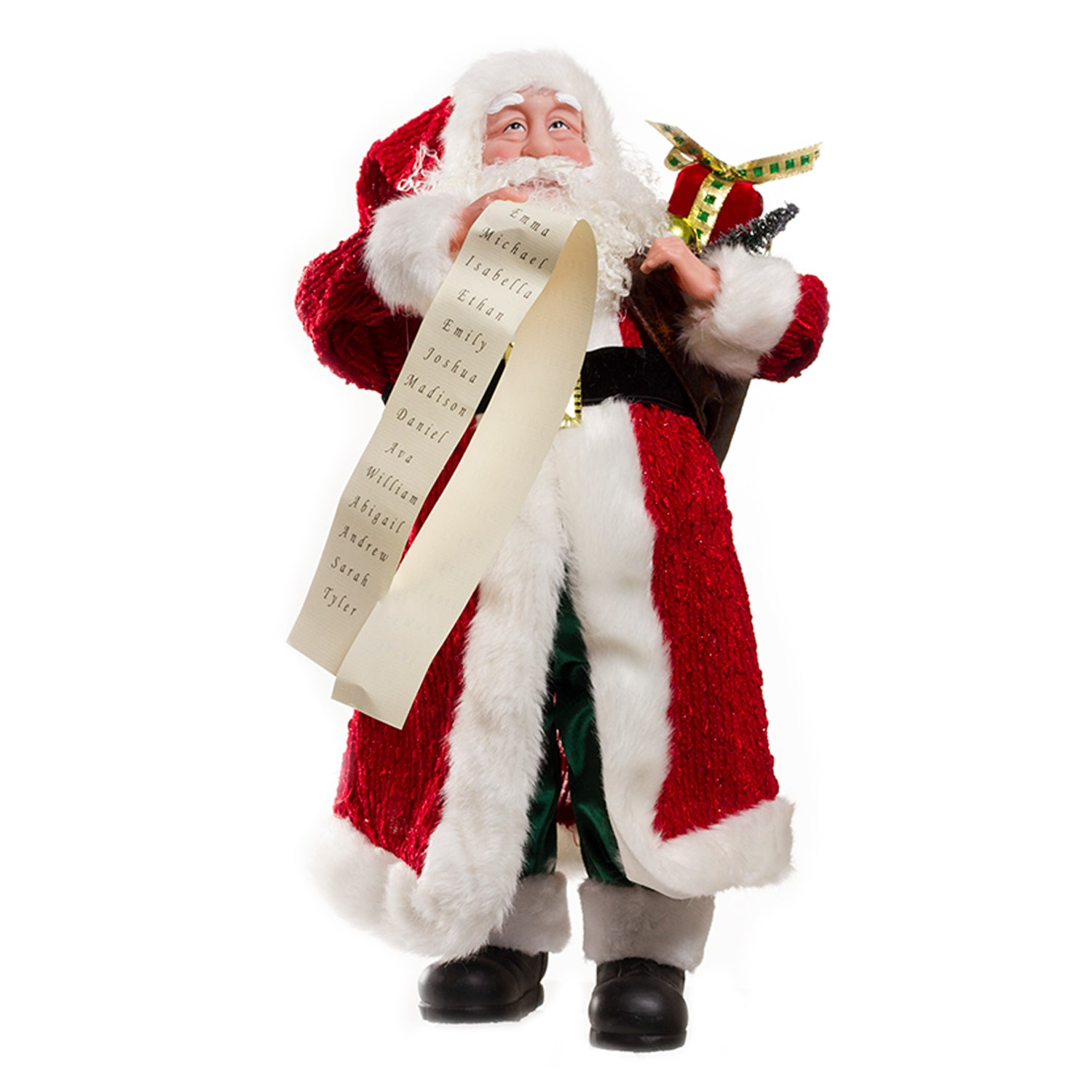 "CS - Christmas Santa 18"" Red (20374933)"