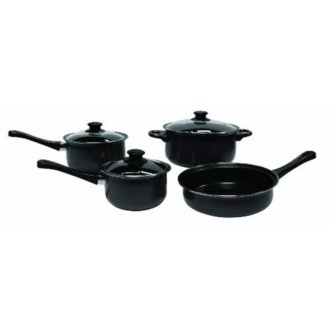 Carbon Steel Nonstick 7 Piece Cookware Set
