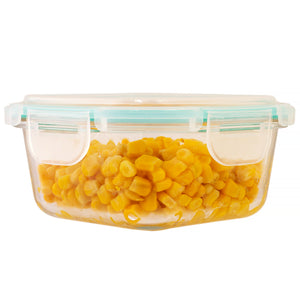 Mimo - Glass Containers - Square 40 oz - (MW3983) - Main