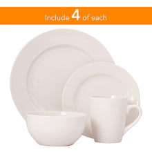 Load image into Gallery viewer, Gibson Elite Gracious Dining Round 16 Piece Dinnerware Set