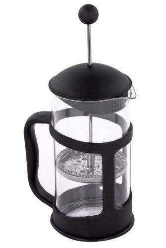 French Press Coffee & Tea Maker with Heat Proof and Stainless Steel Filter, 11 Oz / 350ml