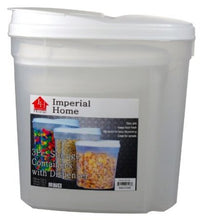 Load image into Gallery viewer, Imperial MW1196 Plastic 3 Piece Cereal Dispenser Set - Dry Food Storage Containers