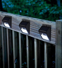 Load image into Gallery viewer, New Motion Sensor Light Pack – LED Solar Lights – Solar LED Lights – LED Outdoor Lights for Patio, Walkway, Front Door & More - Solar LED Lights Outdoor/Indoor (2 Pack)