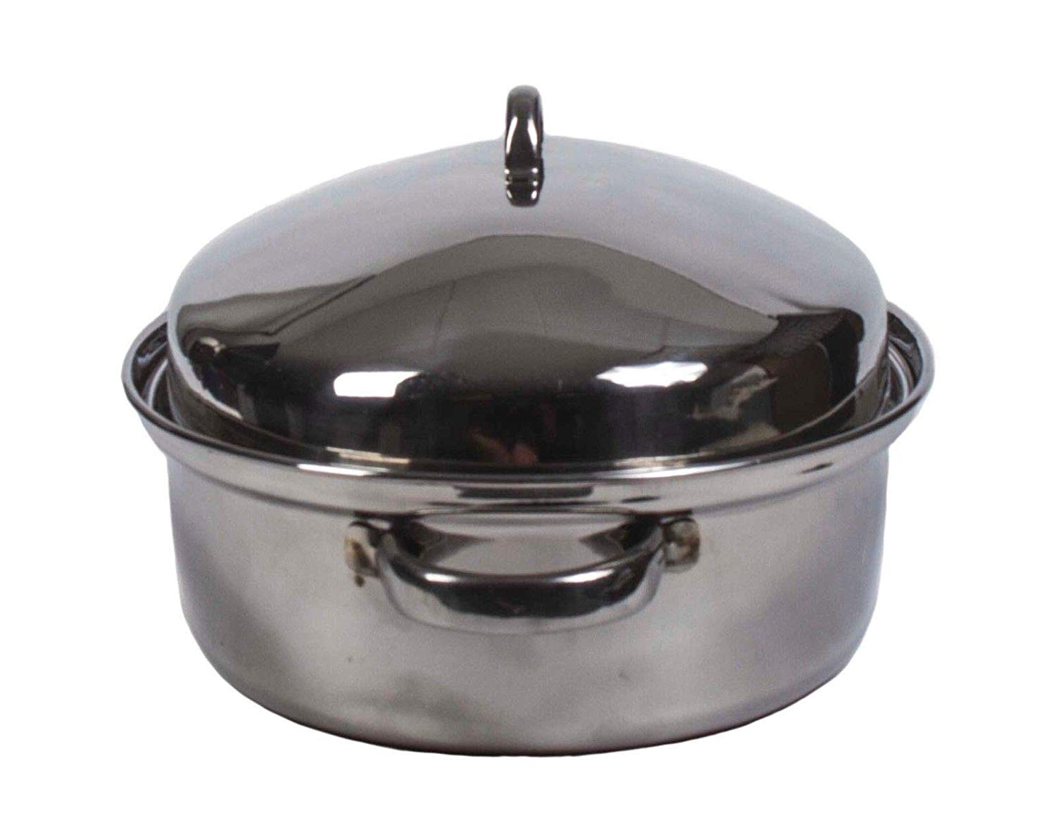 Oval Roaster Pan with Lid – Oven Roaster Pans – Roasting Pan with Lid – Stainless Steel Roasting Pan