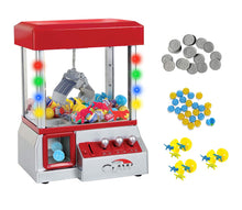 Load image into Gallery viewer, Carnival Crane Claw Game - Electronic Claw Toy Grabber Machine with LED Lights and Toys