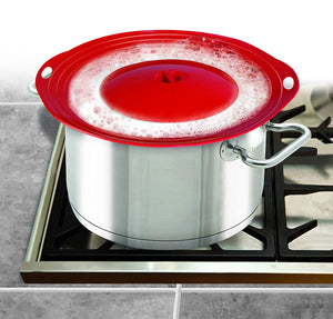 Boil Over Safeguard - Stovetop or Microwave Spill Stopper