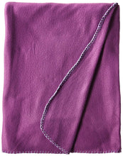 Load image into Gallery viewer, Imperial Home 50 x 60 Inch Soft Cozy Fleece Blanket / Fleece Throw - Purple