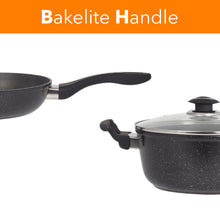 Load image into Gallery viewer, Marble 7 Pieces Aluminum Non Stick Cookware Set - Stockpot Sauce Fry Pan Set