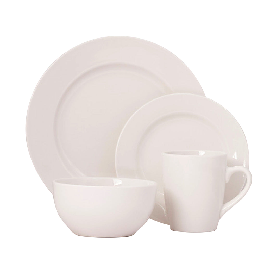 Gibson Elite Gracious Dining Round 16 Piece Dinnerware Set