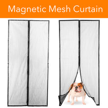 Load image into Gallery viewer, Improved Magic Screen Hands Free Magnetic Door Stronger Magnet & Heavy Duty Mesh