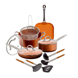 MW - Cookware Set - Copper 12 Pcs Set (MW3872)