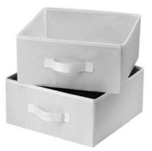2 Pc Storage Box Drawers