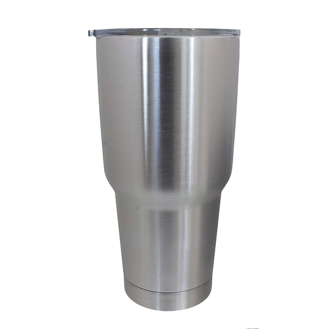 Double Wall Insulated Stainless Steel 30 Oz. travel Tumbler With Lid
