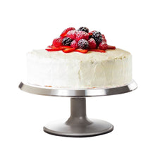 Load image into Gallery viewer, Pedestal Cake Stand – Metal Rotating Cake Stand – Cake Cupcake Stands - Revolving Cake Stand with Cake Decorating Tools