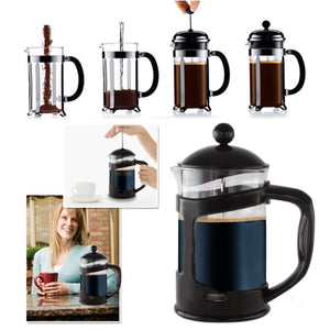 Black 28 Oz.French Press Coffee Tea Maker with Stainless Steel Filter